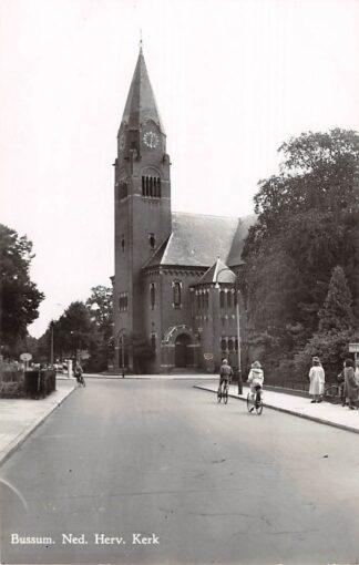 Ansichtkaart Bussum Ned. Hervormde Kerk 1950 HC2787