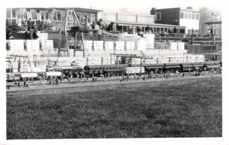 Ansichtkaart 's-Gravenhage fotokaart Madurodam Station Treinen Spoorwegen Den Haag HC2816