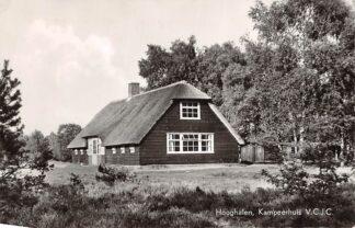 Ansichtkaart Hooghalen Kampeerhuis V.C.J.C. 1959 HC2827