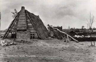 Ansichtkaart Schoonoord Openlucht museum Holwoning 1959 HC2836