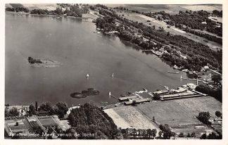 Ansichtkaart Paterswolde Meer vanuit de lucht 1958 KLM Luchtfoto 30498 HC2838