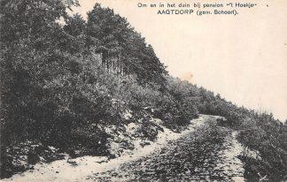 Ansichtkaart Aagtdorp bij Schoorl Om en in het duin bij pension 't Hoekje 1928 HC2854