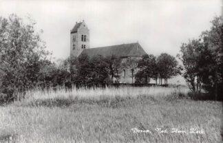 Ansichtkaart Bozum Ned. Hervormde Kerk HC2859