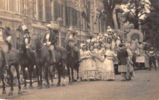 Ansichtkaart Haarlem 1946 Fotokaart Allegorische optocht t.g.v. 750 jaar Stad Haarlem HC2869