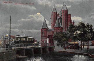Ansichtkaart Haarlem Amsterdamsche Poort 1905 met tram HC2876