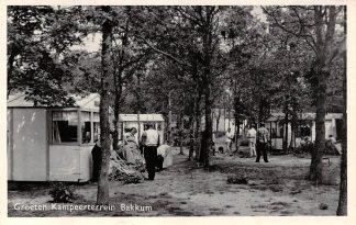 Ansichtkaart Bakkum Kampeerterrein Camping HC2883