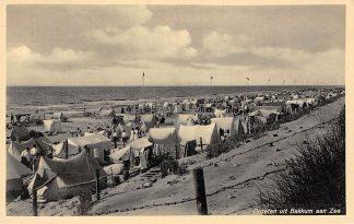 Ansichtkaart Bakkum Duinen, Strand en Zee 1941 HC2884