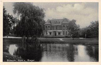 Ansichtkaart Bussum Kom van Biegel 1939 HC2895