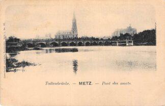 Ansichtkaart Metz Todtenbrucke Pont des Morts Frankrijk France HC2922