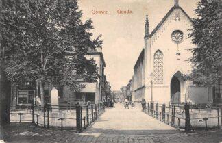 Ansichtkaart Gouda Gouwe Brug Groenendaal Lutherse Kerk HC2962