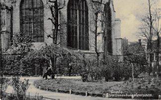 Ansichtkaart Gouda Achter de Kerk Oudemannenhuisplantsoen 1907 HC2975