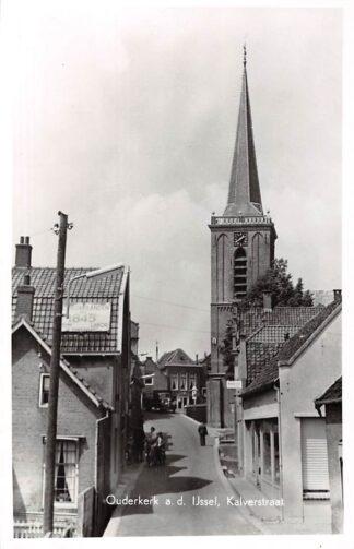 Ansichtkaart Ouderkerk aan den IJssel Kalverstraat HC2994