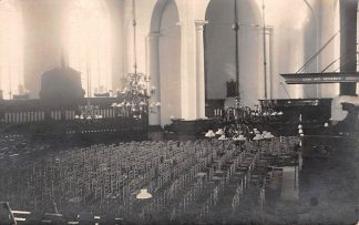 Ansichtkaart Maassluis Fotokaart Interieur Hervormde Kerk HC3010