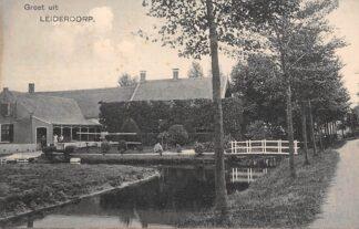 Ansichtkaart Leiderdorp Boerderij HC3014