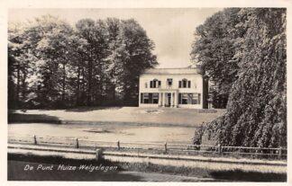 Ansichtkaart De Punt Huize Welgelegen 1954 HC3042