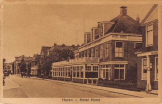 Ansichtkaart Haren Hotel Restaurant Horst HC3057