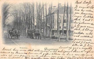 Ansichtkaart Groningen Waterloo 1900 Paard en wagen HC3059