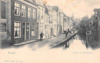 Ansichtkaart Gouda Achter de Vischmarkt Vivat 2757 HC3081
