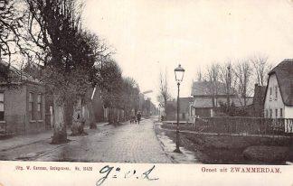 Ansichtkaart Zwammerdam Groet uit Molen 1905 Bodegraven HC3102