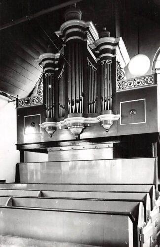 Ansichtkaart Hekendorp Ned. Hervormde Kerk Orgel 1968 HC3114