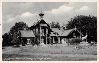Ansichtkaart Wouwsche Plantage bij Bergen op Zoom Jachthuis HC3123