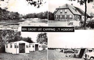 Ansichtkaart Kaatsheuvel Een groet uit camping 't Hoekske Auto HC3131