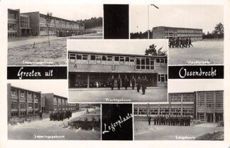 Ansichtkaart Ossendrecht Groeten uit Legerplaats Kazerne Militair Soldaten 1956 HC3144