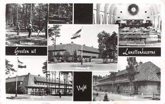 Ansichtkaart Vught Groeten uit Lunetten kazerne Militair Soldaten HC3150