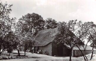 Ansichtkaart Loon op Zand Kampeerboerderij A. de Kort Duiksehoef 8 HC3157