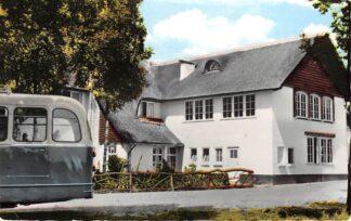 Ansichtkaart Udenhout Auto bus Hotel Cafe Restaurant Bos en Duin G.F. Kruissen 1962 HC3162