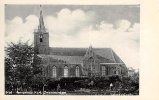 Ansichtkaart Zwammerdam Ned. Hervormde Kerk Bodegraven HC3230