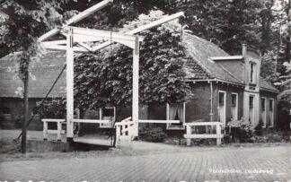 Ansichtkaart Voorschoten Leidseweg met boerderij HC3237