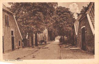 Ansichtkaart Rijssen Oud straatje 1916 HC3262