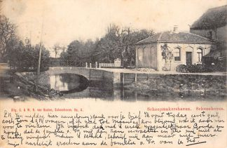 Ansichtkaart Schoonhoven Scheepmakershaven 1902 Van Nooten No. 4 HC3263
