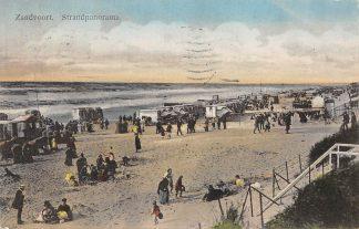 Ansichtkaart Zandvoort Strand Panorama Zee 1914 HC3268