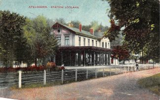 Ansichtkaart Apeldoorn Station Loolaan 1918 Spoorwegen HC3279