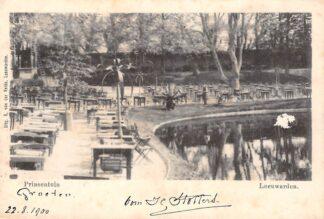 Ansichtkaart Leeuwarden 1900 Pinsentuin HC3288