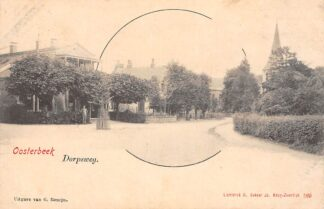 Ansichtkaart Oosterbeek bij Arnhem Dorpsweg HC3298