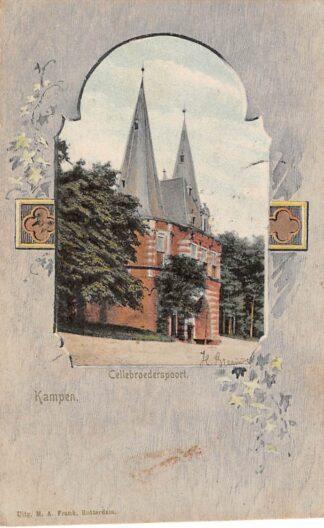 Ansichtkaart Kampen Cellebroerspoort 1904 HC3322