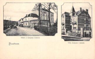 Ansichtkaart Houthem Hotel J. Cuijpers Linssen en Villa Cuijpers Linssen HC3330