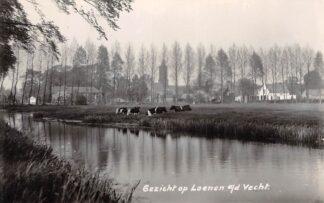 Ansichtkaart Loenen (UT) aan de Vecht 1939 Type fotokaart Gezicht op Loenen aan de Vecht HC3342