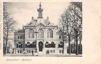 Ansichtkaart Apeldoorn Gemeentehuis HC3353