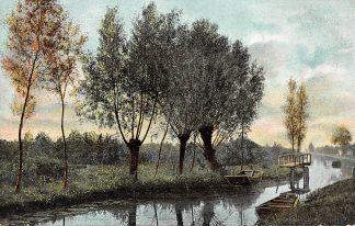 Ansichtkaart Kortenhoef Vaart 1906 Bij Hilversum HC3355
