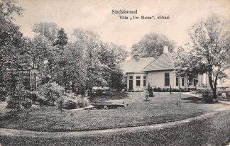 Ansichtkaart Stadskanaal Villa Ter Marse Afdraai 1925 HC3359