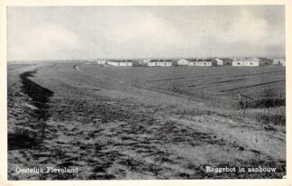 Ansichtkaart Oostelijk Flevoland Roggebot in aanbouw HC3370