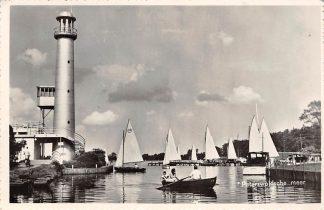Ansichtkaart Paterswolde Paterwoldsche meer Zeil schepen Zeilen 1956 HC3383