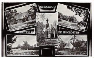 Ansichtkaart Dwingeloo Groeten uit de Noordster 1959 HC3388