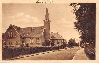 Ansichtkaart Haren Gereformeerde Kerk Kerkstraat HC3395