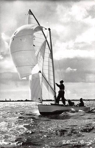 Ansichtkaart Grouw Zeilsport Zeilen 1963 HC3418