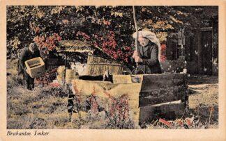 Ansichtkaart Noord-Brabant Brabantse Imker Boekel Dorus en Hanne van Doren-van den Berg Klederdracht 1935 HC3444